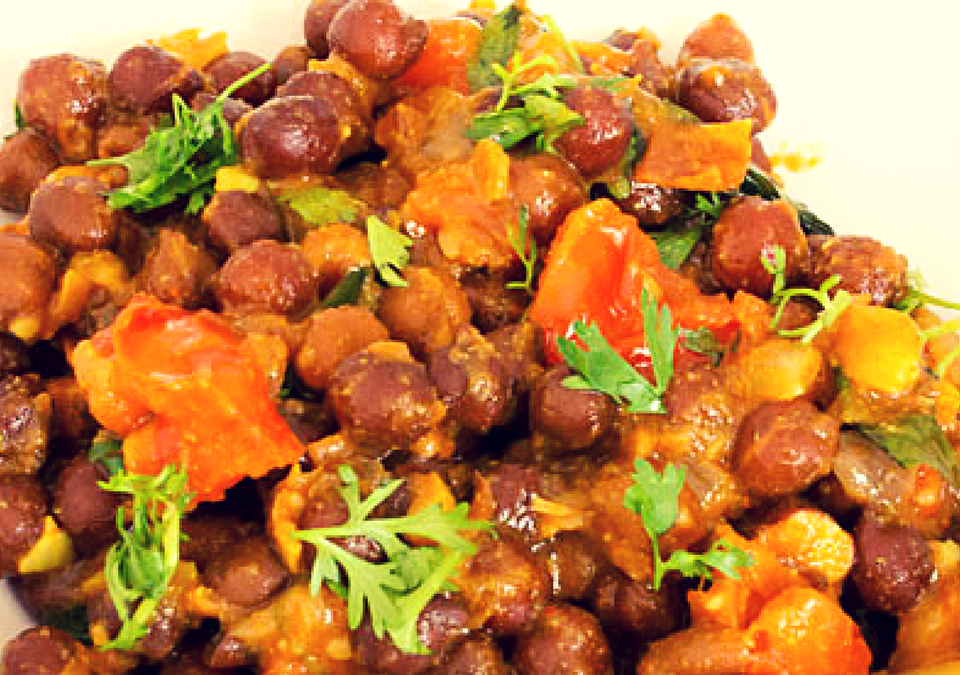 Black Chickpeas Recipe