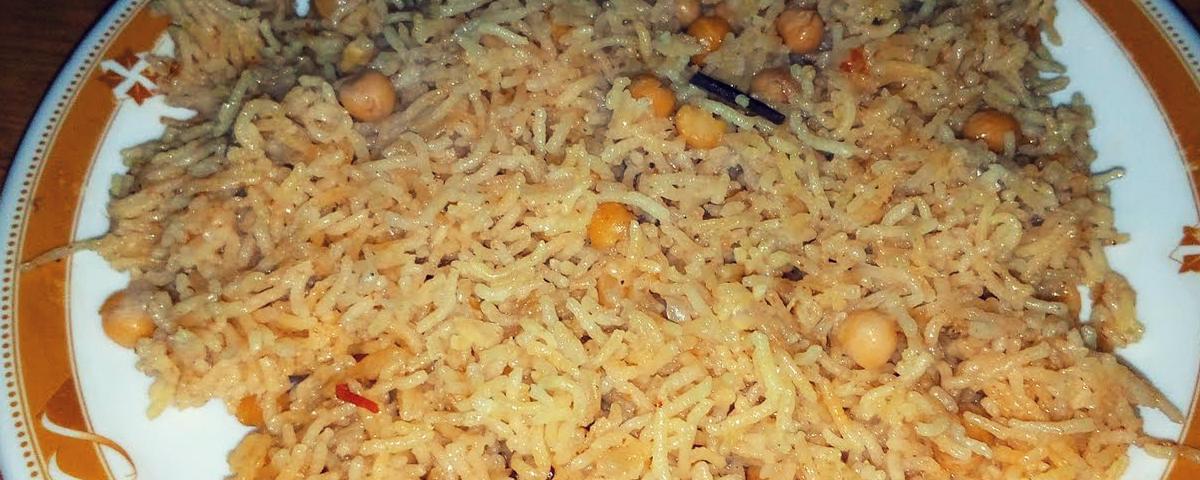 Channa Pulav Recipe