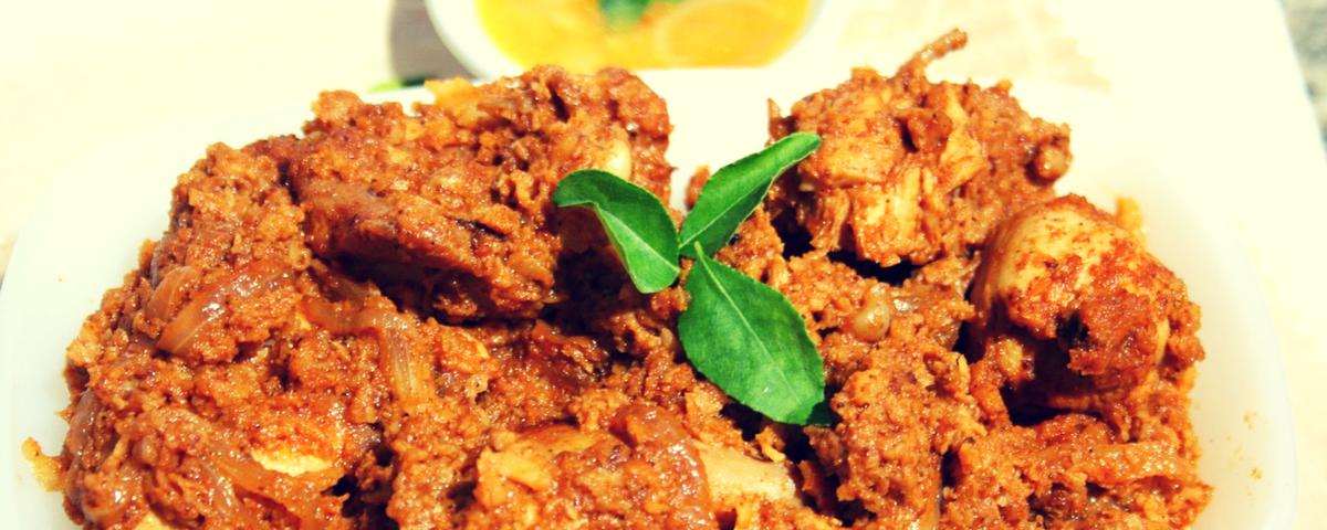 Chicken Spicy Sukka