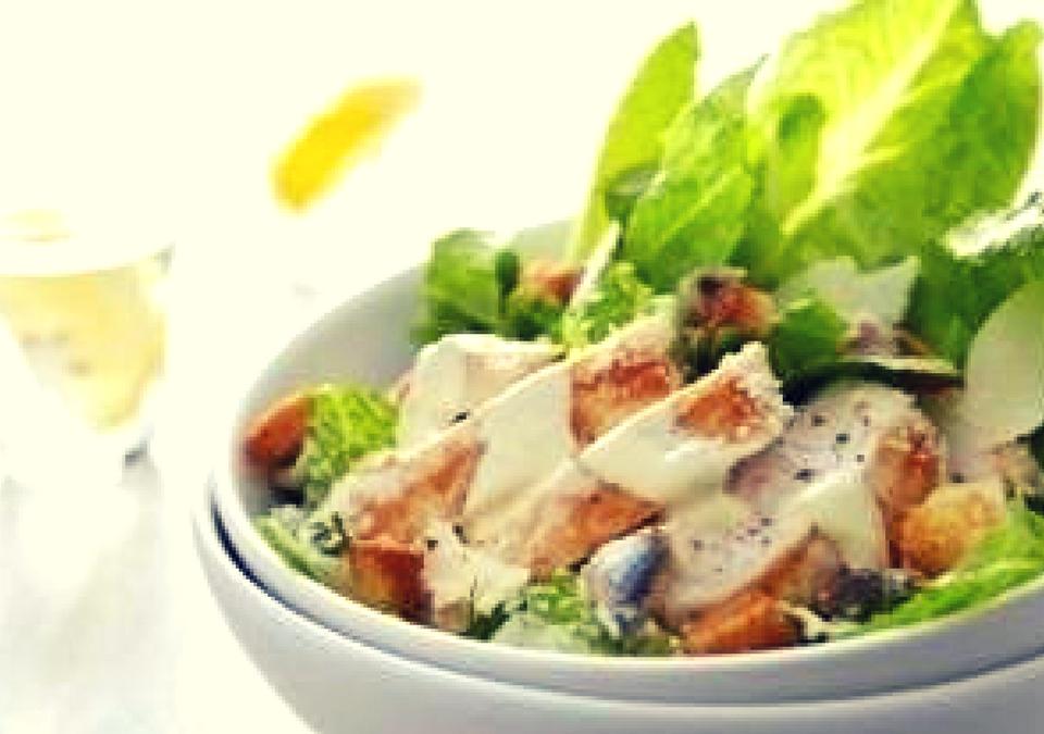 Grilled Paneer Salad