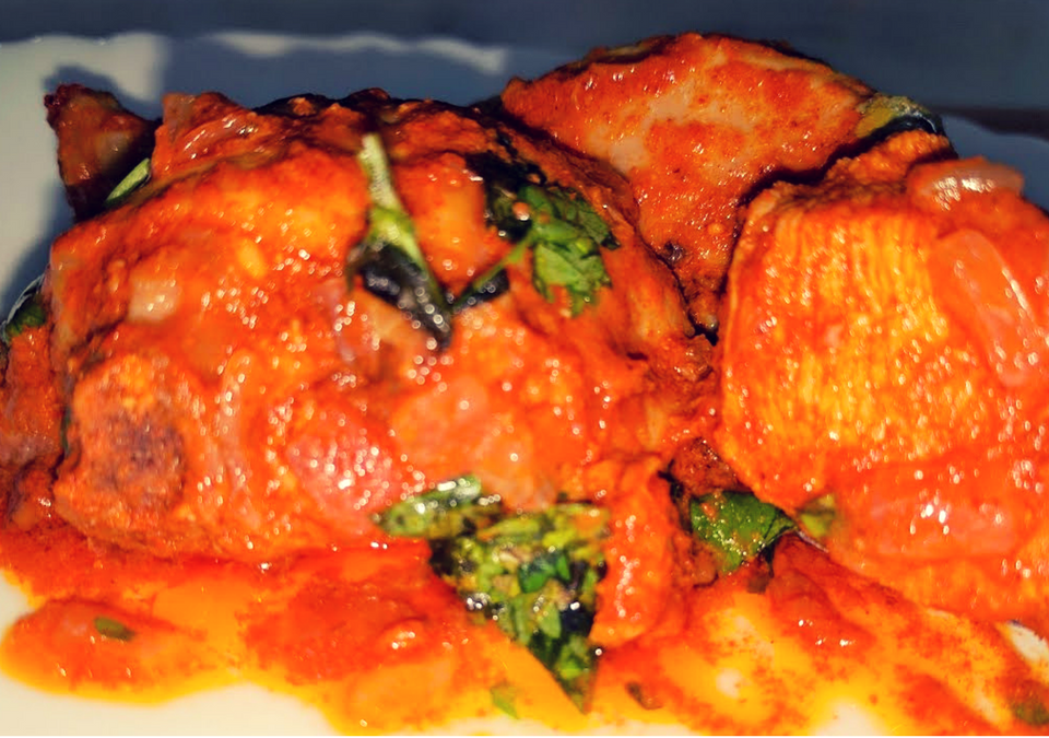 Kundapura Chicken Curry