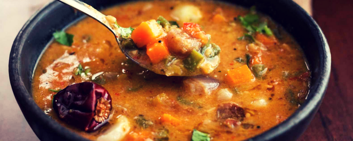 Mixed Vegetable Sambar Recipe