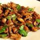 Mushroom Chilli Fry