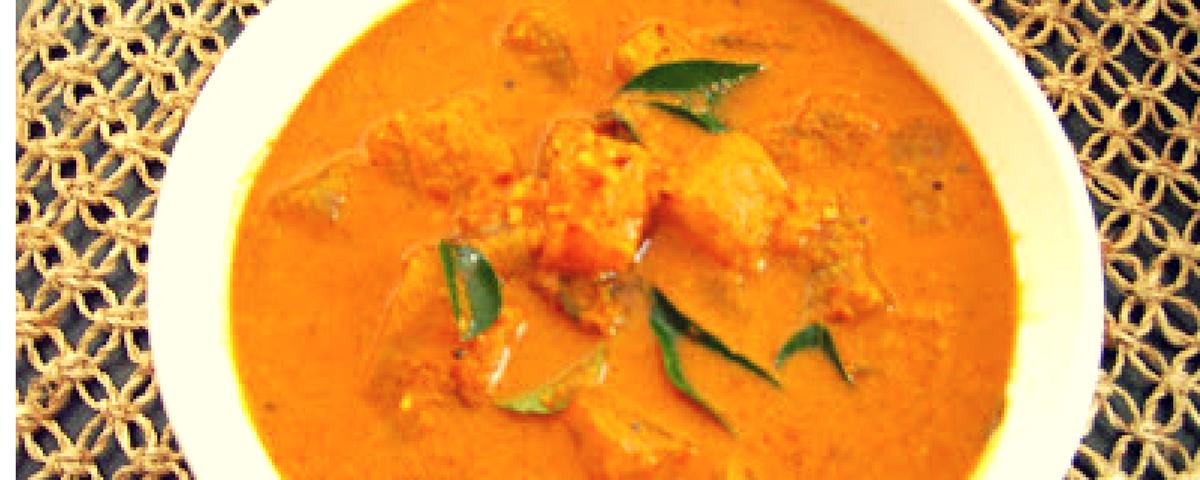 Puli koddel (Ash gourd curry)