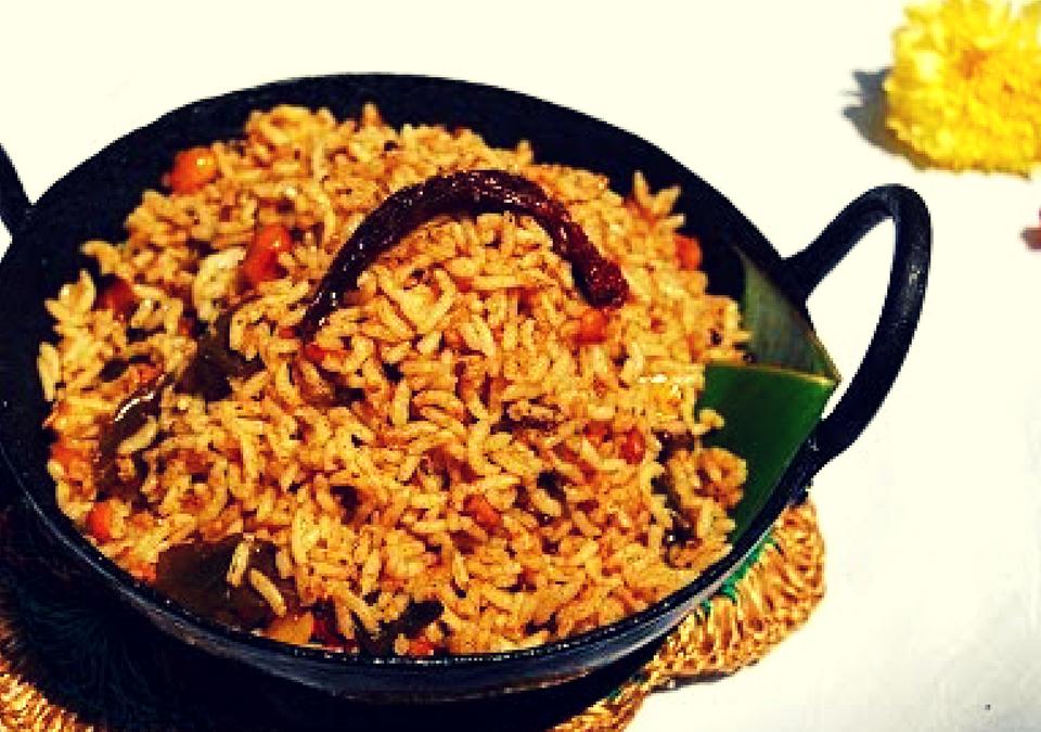 Puliyogare(Tamarind Rice)