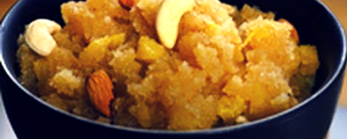 Semolina (Sooji) Pineapple Halwa