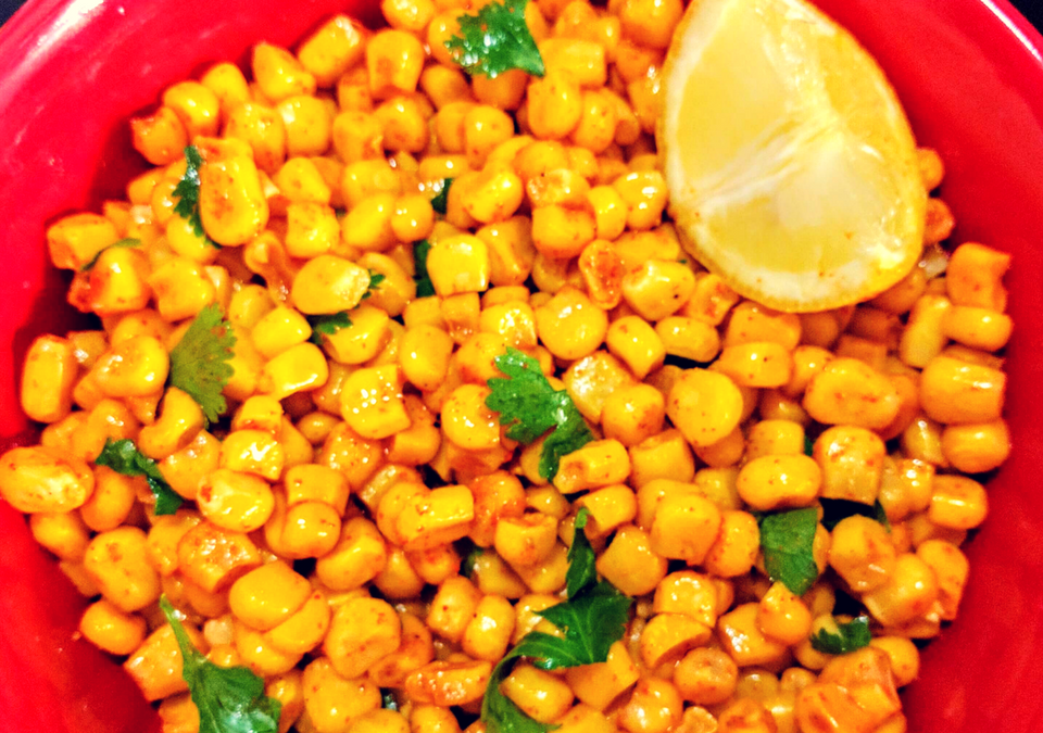 Masala Corn Recipe