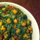 Black Channa With Green Masala Recipe