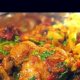 Chicken Curry with Mushrooms and Pepper Recipe