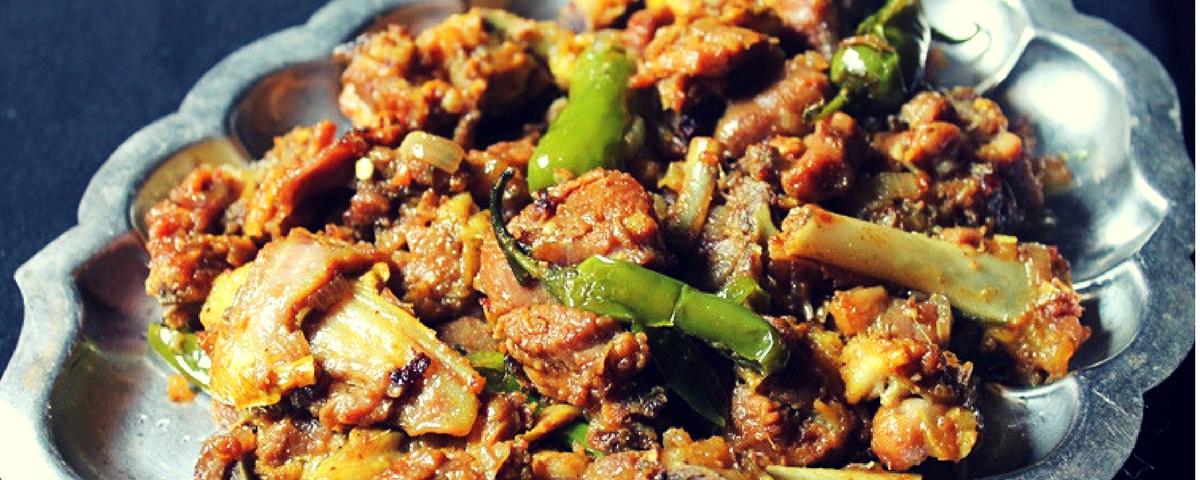 Mutton Soy Sauce Roast Recipe