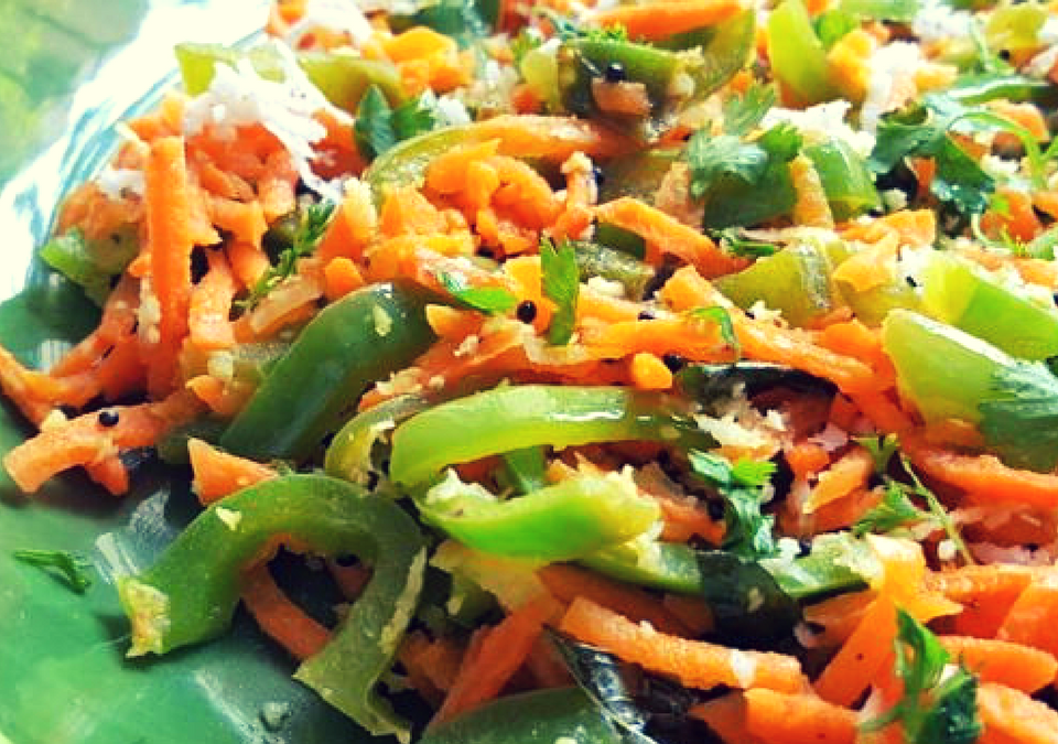 Carrot And Capsicum Recipe