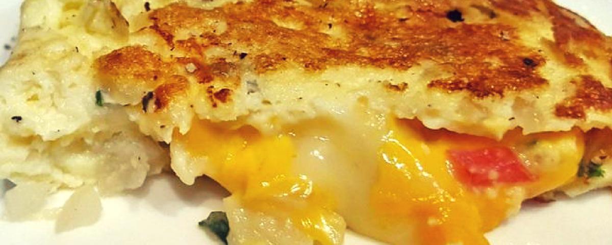 Masala Cheese Omelette Recipe